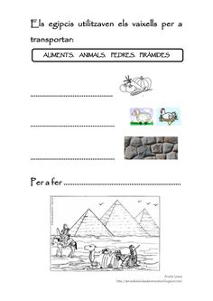 Egipto para niños -materiales- Africa, School, Egypt, Index Cards, History, Free Printable, Projects, Egg