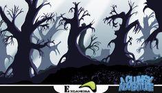 Dark Level Forest Concept 2