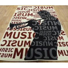 This Rug Rocks Totsy Isaak Room Pinterest Music Bedroom Rugs And Bedrooms