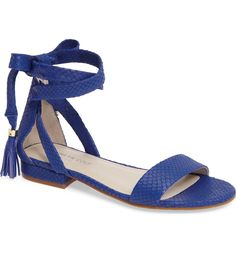Main Image - Kenneth Cole New York Valen Tassel Lace-Up Sandal (Women)