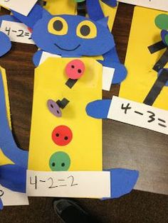Pete The Cat Subtrac