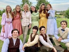 Anne with an E 3 Cast, behind the scenes Gilbert And Anne, Anne White, Amybeth Mcnulty, Gilbert Blythe, Anne With An E, Anne Shirley, Cuthbert, Movies Showing, Behind The Scenes