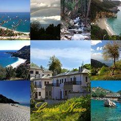 All beauty of Pelion, Greece around Lions Nine