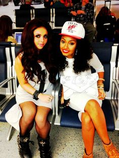 Jesy Nelson and Leigh-Anne Pinnock