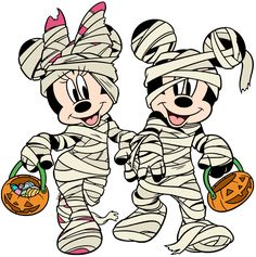 Halloween themed images of Mickey and Minnie Mouse, Donald and Daisy Duck, Pluto, Goofy and other Disney characters. Mickey Mouse Halloween, Mickey Mouse Art, Halloween Clipart, Mickey Mouse And Friends, Halloween Art, Halloween Cartoons, Cute Disney, Disney Art, Disney Drawings