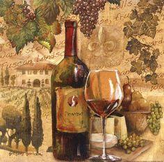 Tuscan Harvest - mini Fine-Art Print by Gregory Gorham at UrbanLoftArt.com