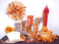 Fabulously Fall Candy Buffet - Candy Galaxy
