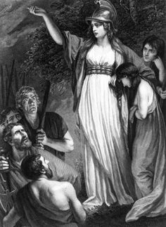 Boadicea Haranguing the Britons (called Boudicca, or Boadicea), by John Opie, 1793 /// Boadicea was queen of the British Iceni tribe who led an uprising against the occupying forces of the Roman Empire. History Of England, British History, European History, Women In History, Ancient History, Ancient Rome, Queen Boudica, Iceni Tribe, Celtic Warriors