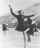 Sonja Henie - 1928 Olympic Figure Skating Champion