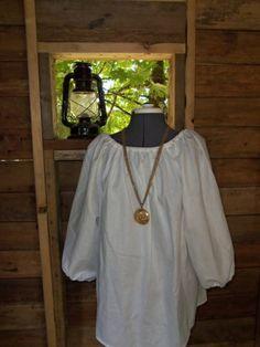 Women Renaissance Costume Civil War Shirt Peasant Pirate Blouse colors   thesewingcottage - Clothing on ArtFire
