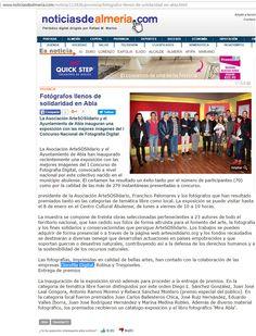 prensa clorofila clorofila digital com noticia solidaridad fotografos provincia sitio web abla http www