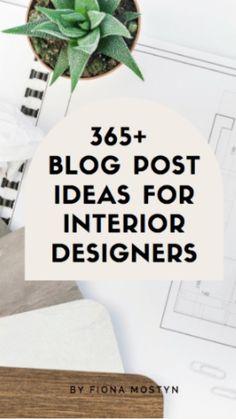 Interior Design Business, Home Interior Design, Real Estate Marketing, Email Marketing, Blog Planner, Service Design, Tips, Interior Design, Counseling