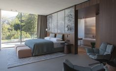 The vertiginous topography of Lake Como, in the southern Italian Alps, is home to a new hotel. Perched on the lake's eastern shore, Il Sereno Lago di Como is a sister property to the Christian Liaigre-designed Le Sereno Saint-Barthélemy in the Caribbea...