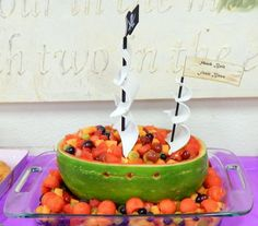 Really cute snack idea for a pirate themed party one of the creative BusyKidz moms came up with!
