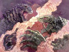 Godzilla 2014 vs Gamera