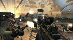 Free-for-All on Detour Map in Call of Duty: Black Ops II.
