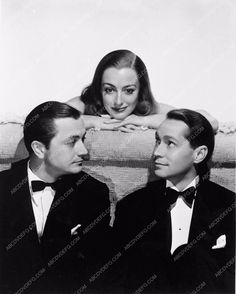 photo Robert Young Joan Crawford Franchot Tone The Bride Wore Red 2793-24