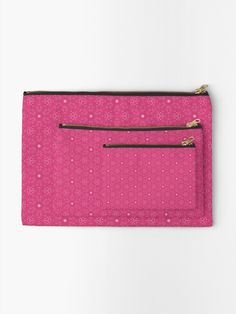 """Magenta #1"" Zipper Pouch by Kettukas 