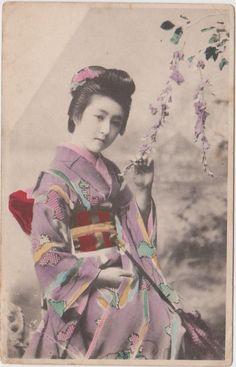 Vintage Postcard Geisha Girl Carte Postal Japan Otkpbitoe Undated | eBay