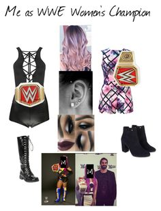 Me as WWE Women's Champion