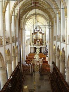 Dordrecht<br />Dordrecht - Grote Kerk interieur binnenzijde
