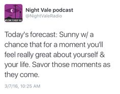Welcome to Night Vale tweets