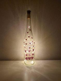 Light Chain, Bottle Lights, Zen, Hand Painted, Make It Yourself, Meditation, Relax, Etsy Shop, Warm