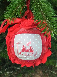 Xmas, Christmas Ornaments, Holiday Decor, Advent, Wordpress, Christmas Crafts, How To Make Crafts, Feltro, Cross Stitch Pictures