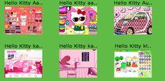 Hello Kitty spelletjes!