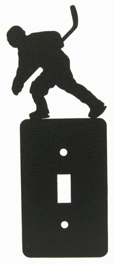 Hockey Single Light Switch Plate Cover:Amazon:Home Improvement