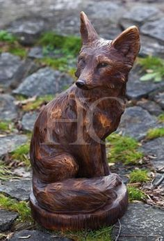 Look At This Fox Statue On Today!