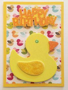 Lucky Ducky Birthday Card