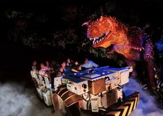 If you are looking for thrills and chills during your visit to Disney's Animal Kingdom Theme Park at Walt Disney World, Dinosaur may just be the perfect fit! You will find Dinosaur in the DinoLand U.S.A section of the park.