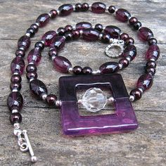 Deep Purple - Weezie World Light Purple, Deep Purple, Purple Punch, Thing 1, Antique Silver, Glass Beads, Jewelry Making, Pendant, Bracelets