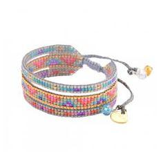 Woman pearl Melange multicolour bracelet www.bionto.com