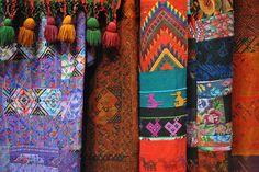 Textiles from Antigua Guatemala