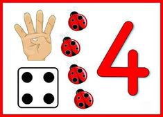 Numbers For Kids, Numbers Preschool, Preschool At Home, Preschool Math, Toddler Learning Activities, Preschool Activities, Kids Learning, Nursery Worksheets, Kids Math Worksheets