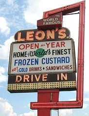 Get a scoop of frozen custard from Leon's, a Milwaukee landmark that has been family owned and operated since 1942.