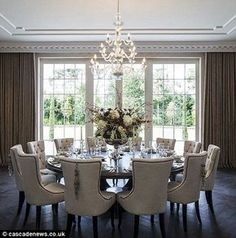 ... Rectangular Tables For A Formal Dining Room! South Shore Decorating  Blog: The Case For Neutrals In Decorating