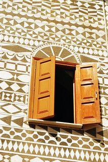Chios, Beautiful Islands, Print Patterns, Greece, Windows, Doors, Balconies, Thalia, Czech Republic