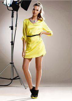 #neon #dress #bonprix