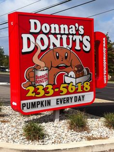 Donna's Donuts -- Flint, Mi Www.donnasdonuts.com Flint Michigan, State Of Michigan, Coney Dog, The Mitten State, Port Huron, Detroit Area, Old Signs, Ol Days, Advertising Signs