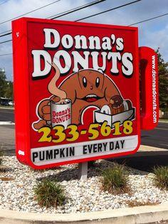 Donna's Donuts -- Flint, Mi Www.donnasdonuts.com