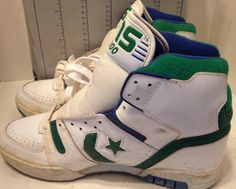 1cb27a5ff08d ... Converse Shoes Vintage Deadstock Cons ERX 200 13 19433 White Sneakers  eBay ...