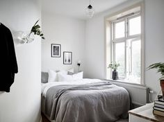 Small light bedroom