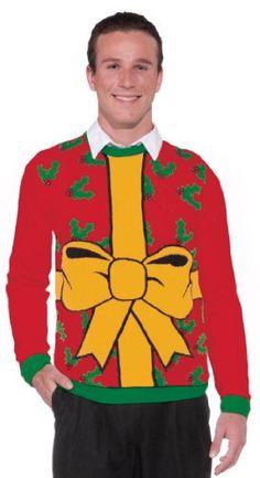 Ugly Christmas Gift Adult Sweater Forum Novelties http://www.amazon.com/dp/B00HZVY3D2/ref=cm_sw_r_pi_dp_SZJIub18YXB8B