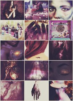 Galaxy Witch aesthetic