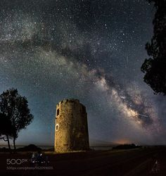 Torre Cala d'Ostia  lattea  Image credit: http://ift.tt/29mivfO Visit http://ift.tt/1qPHad3 and read how to see the #MilkyWay  #Galaxy #Stars #Nightscape #Astrophotography