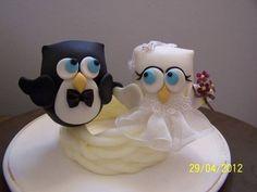 Noivos corujas