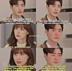 The Top Best Quotes from the KDrama, Romance is a Bonus Book W Kdrama, Kdrama Memes, Korean Drama Funny, Korean Drama Quotes, Romance, Lee Jong Suk Cute, Drama Fever, Drama Drama, Netflix